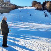 Wintersport Im Schwarzwald Opa