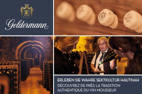 Geldermann - wahre Sektkultur seit 1838