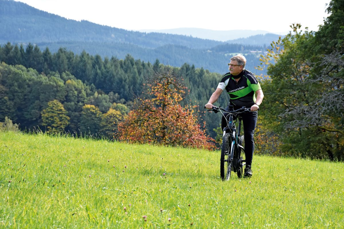 Pedelec-Schwarzenbruch-Panorama