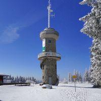 Der letzte Wintertag: Furtwangen, Brend Turm