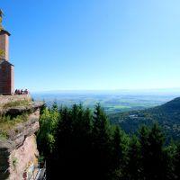 Region Schwarzwald Elsass Blick Von Odilienberg