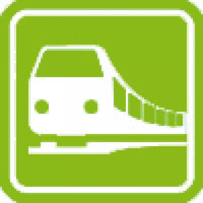 Icon Bahn Hellgruen 2