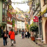 Freiburg Innenstadt Altstadt