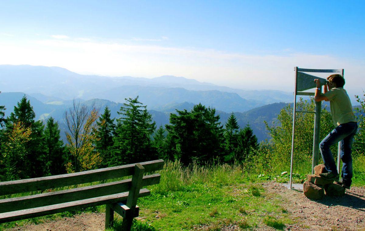 Schwarzwaldhochstrasse Aussichtsplexi
