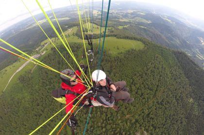 Den Schwarzwald Von Oben Geniessen Gleitschirmflug Kandel Aussicht1