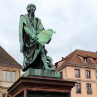 Strassburg Gutenberg Denkmal