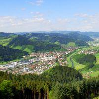 Schwarzwaldbahn Hausach Spitzfelsen