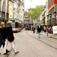 Freiburg Innenstadt Shopping