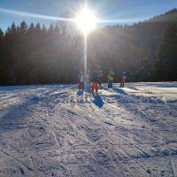 Wintersport Im Schwarzwald Skirennen