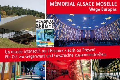 Mémorial Alsace Moselle - Wege Europas