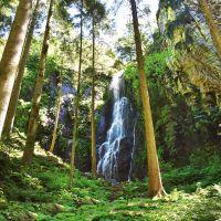 Wolftal Burgbachbachwasserfall