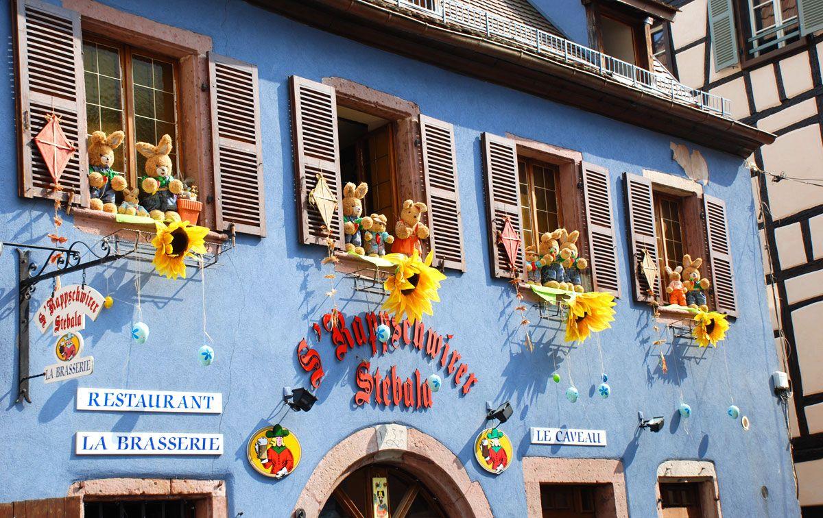 Kirchliche Feste Gengenbach Ribeauville Osterschmuck 2