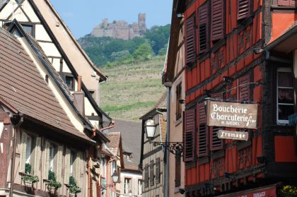 Ribeauville Burg Gasse