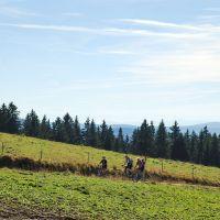 Mit Dem Fahrrad Unterwegs Mountain Bike Tour Zum Feldberg