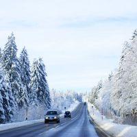 Schwarzwaldhochstrasse Alexanderschanze Winter