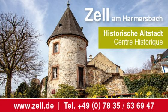 Zell am Harmersbach - historische Altstadt