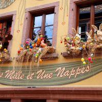 Kirchliche Feste Gengenbach Ribeauville Osterschmuck