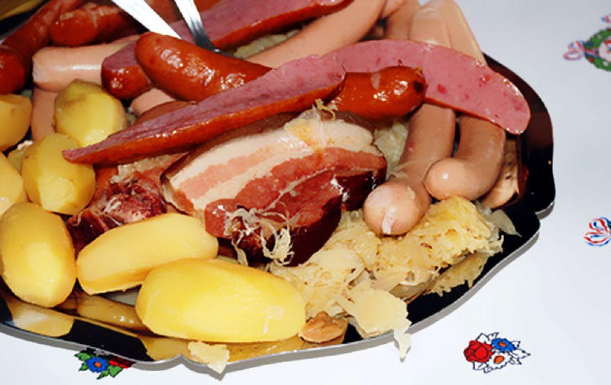 Sauerkrautfest Krautergersheim Elsass
