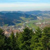 Schwarzwaldbahn Urenkopfwald Blick Auf Haslach Im Kinzigtal