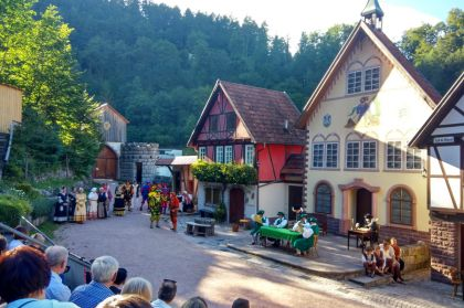 Hornberger Schiessen Kulisse Freilichtbuehne Hornberg