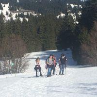 Fruehlingssonne Und Schneeschuhwandern 5