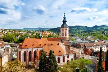 Baden Baden Stadtblick