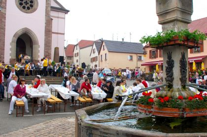 Feste Braeuche Tradition Festplatz