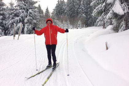 Winter(traum) Auf Dem Kniebis Zollstockloipe