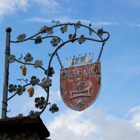 Weinfeste Im Herbst Kaiserstuhl Winzerschild