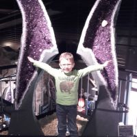 Ausflug In Die Welt Der Kristalle Amethyst Fluegel